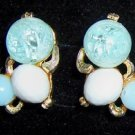 Glass Bead Earrings Clip-on's