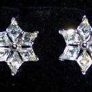 Trifari Rhinestone Screw-back Earrings