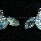 Set Rhinestones Clip-on Earrings