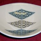 Iroquois Blue Diamond Oval Bowl 10 1/2""