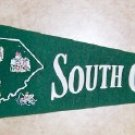 Vintage Felt Pennant   South Carolina