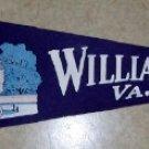 Vintage Felt Pennant   Williamsburg, VA