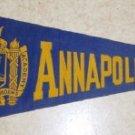 Vintage Felt Pennant   Annapolis Navel Academy