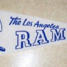 1967 L.A. Rams  Vintage Felt Pennant      Ships free.