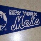 1960's New York Mets Vintage Felt Pennant