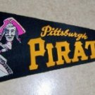 1960's Pittsburg Pirates  Vintage Felt Pennant
