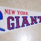 1967 Dated New York Giants Vintage Felt Pennant