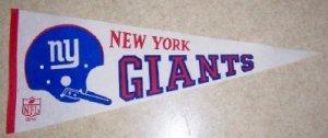 1967 Dated New York Giants Vintage Felt Pennant