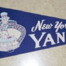 New York Yankees  1950/60's Vintage Felt Pennant