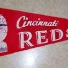 1950/60's Cincinnati Reds  Vintage Felt Pennant