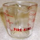 Fire King 1 Cup Measuring Cup