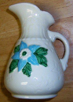 "Hull Pottery Classic Ewer  6-6"""