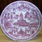 Vintage Los Angeles Plate by Vernon Kilns