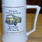 McCoy Advertising Mug/Stein Seisholtsville Fire Dept.