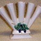 Vintage 1962 McCoy Antique Curio Pattern Finger Vase