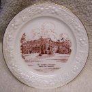 Homer Laughlin, Egg Shell Plate, St. Joseph's Hospital