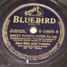 Too Romantic & Sweet Potato Piper 78 RPM Record