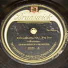 Blue Grass Blues 78 RPM Record