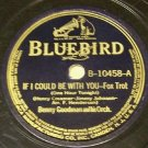 Dear Old Southland & If I Could Be With You 78 RPM Record
