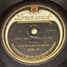 Sweet Man of Mine  78 RPM Record Brunswick   # 2138