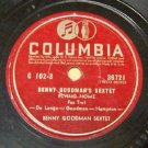 Flying Home  Benny Goodman Sextet 78 RPM Record