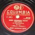 Rose Room  - Benny Goodman Sextet 78 RPM Record