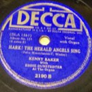 It Came Upon A Midnight Clear  78 RPM Record