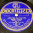 When I'M Gone You'll Soon Forget  78 RPM Record
