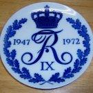 Royal Copenhagen Plate King Fredrik IX of Denmark