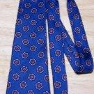Vintage Blue Silk Necktie