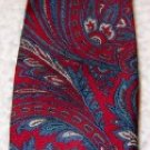 Necktie Silk,  Wembley Silks, Paisley  100 % Silk