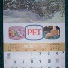 Pet Milk 1975 Calendar