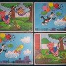 1976 Pepsi Collector Cartoon Placemats  Set of four.