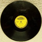 Ghost Dance on Russell Label  78 RPM