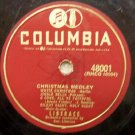 Christmas Medley (Liberace) 78 RPM on Columbia 10""