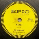 Maybe - The Four Coins - 78 RPM on Epic 10""