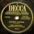 Easter Parade  78 RPM on Decca 10""