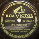 "Its Witchery  78 RPM RCA Victor 10"" Record"