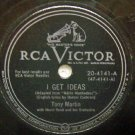 I Get Ideas  78 RPM on RCA Victor