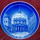 Kirke Platten Christmas Plate - Marble Church - 1970