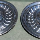 "Vintage Cir. 1958 Cadillac Eldorado 15"" Wheel Covers  Two"