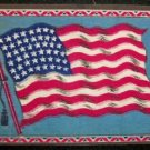 Tobacco Flag, America, Large