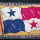 "Panama  Tobacco Flag  6 1/2"" X 4"""