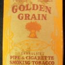 Golden Grain Tobacco Box, Brown & Williamson