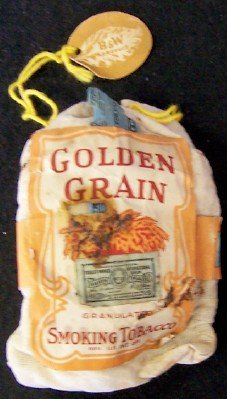 Golden Grain Tobacco 10 cent Pouch
