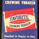 Favorite Chewing Tobacco  Note Pad