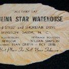 Carolina Star Warehouse - Tobacco Advertisement