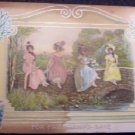 "Victorian Postcard "" For Friendship Sake"""