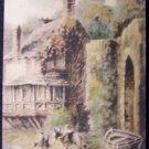 Crazy Kate's Cottage, Unused English Postcard