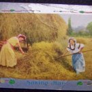 """Making Hay"" Victorian Postcard"